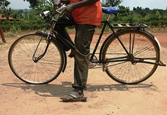 Bicycle for a pastor